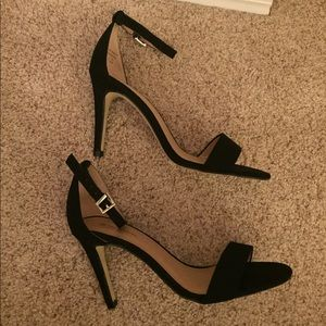 Call It Spring Shoes - Call It Spring black suede heels